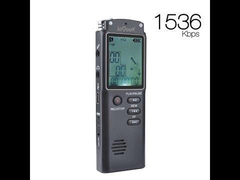 ieGeek Digital Voice Recorder