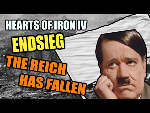 Hearts Of Iron 4: GERMANY HAS FALLEN - ENDSIEG