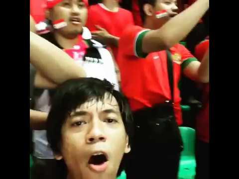 Ryan D Masiv Nonton Indonesia vs Thailand