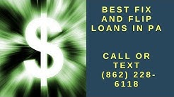 Best Fix and Flip Loans in PA - Best Hard Money Lender in PA - First Equity Funding