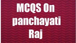 Download lagu MCQs on Panchayati Raj