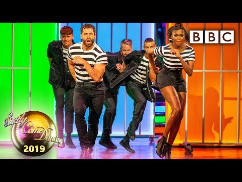 Kelvin and Oti Jive to 'Jailhouse Rock' from Smokey Joe's Cafe - Blackpool | BBC Strictly 2019