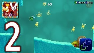 RAYMAN Fiesta Run Android Walkthrough - Part 2 - Level 4-7 PERFECT 100% w/ invaded