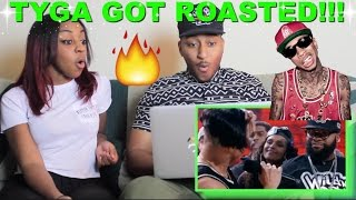 Couple Reacts : Wild 'N Out Tyga & Scott Disick Kardashian Cracks Reaction!!!