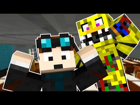 TheDiamondMinecart Goes Into Five Nights At Freddy's (Night 2) - Minecraft Roleplay