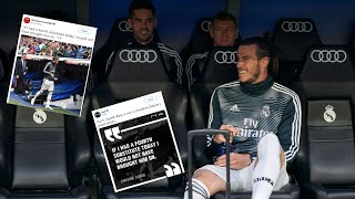 Real Madrid&#39s Gareth Bale Bust Up With Manager Zinedine Zidane (Real Madrid 0-2 Real Be ...