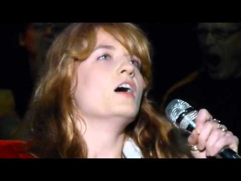 Florence and the Machine COSMIC LOVE  Acoustic @ Bridge School Benefit Mountain View 102514