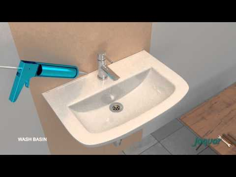 Jaquar Wash Basin Installation