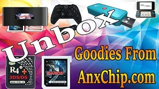Unboxing 3DS Flash Cards/N100 PLUS And More From AnxChip.com