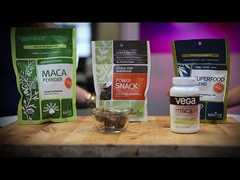 Maca root and sex drive