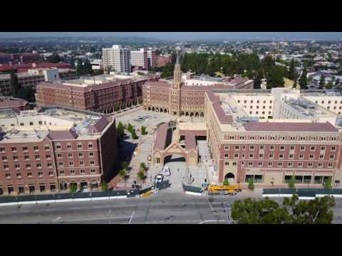 USC Village Aerial May 2017