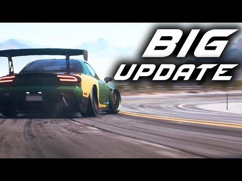 Need for Speed Payback BIG UPDATE - Speedcross, RX-7, New Cars, Wheel Support, Drift Speedlists