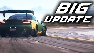 Need for Speed Payback BIG UPDATE - Speedcross, RX-7, New Cars, Wheel Support, Drift Speedlists