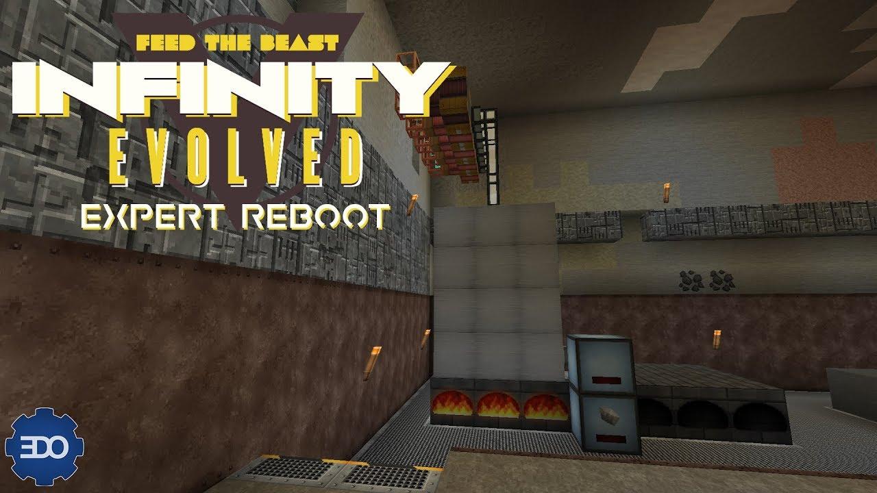 Infinity Evolved Expert Reboot | Ep 14 | Railcraft HP Boiler & UU-Matter!!