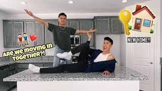EMPTY HOUSE TOUR!! | Louie's Life