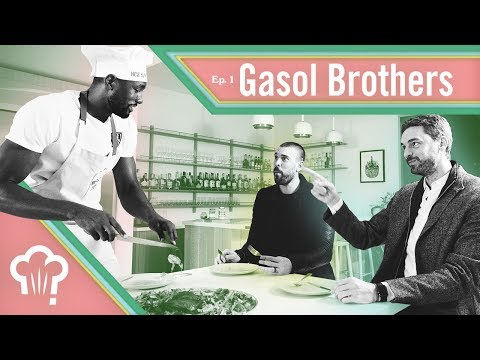 Marc & Paul Gasol show up together - How Hungry Are You?