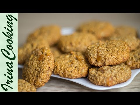 Печенье из овсяных -