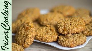 Постное Овсяное Печенье 🍪 Вегетарианское Печенье Vegetarian Oatmeal Cookies ☆ Ирина Кукинг
