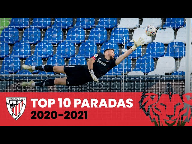 🧤 Top 10 Paradas Athletic Club - Geldiketak (2020-2021)