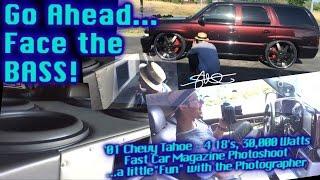 Go Ahead. Face the BASS! Photoshoot for Fast Car Magazine - 4 18