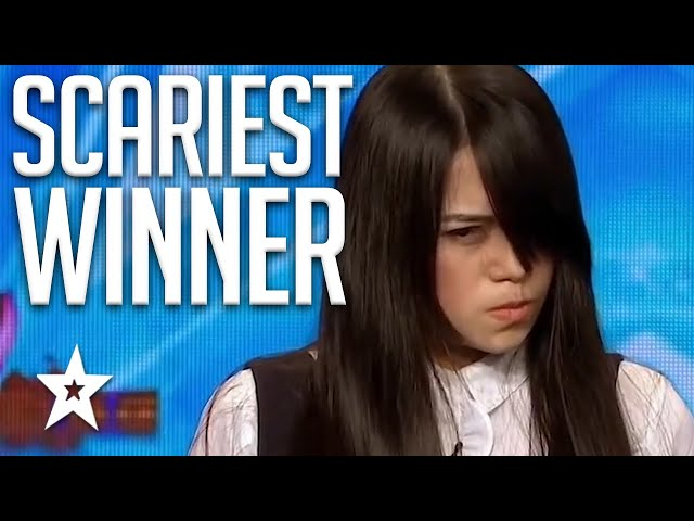 SCARIEST WINNER EVER! Sacred Riana All Auditions On Asia's Got Talent