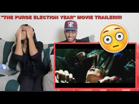 "Thumbnail: Couple Reacts : ""The Purge: Election Year"" Official Trailer Reaction!!!"