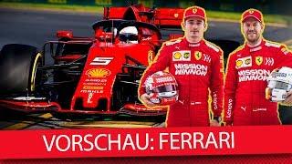 Ferrari Favorit auf den WM-Titel - Formel-1-Saisonvorschau 2019 (News)