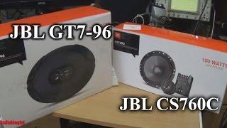 Обзор динамиков JBL CS760C и JBL GT7-96