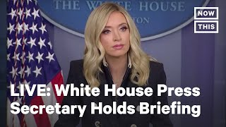White House Press Briefing | LIVE | NowThis News