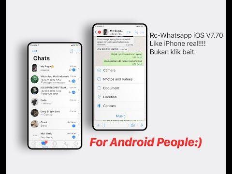 RC-Whatsapp iOS v7.70 (unclone)