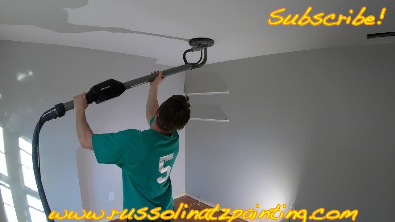 Popcorn Ceiling Removal Skim Coating Part 8