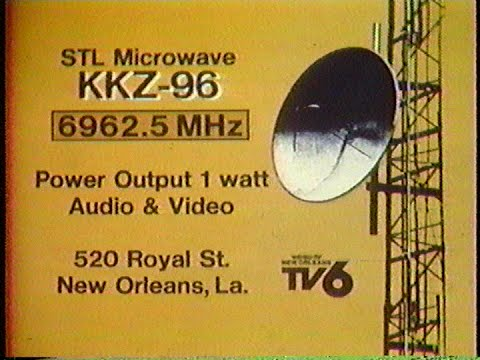 WDSU New Orleans, La. End Of Broadcasting Day Sign Off 1980