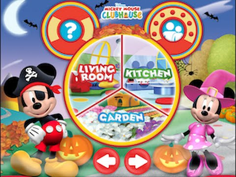 Halloween Mickey Mouse Clubhouse Color Play