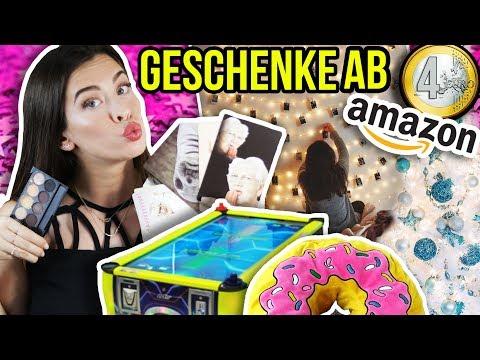 MEGA WEIHNACHTS-GESCHENKE IDEEN AB 4€! 😱😍 MEINE AMAZON PRODUKTE für WEIHNACHTEN 2017! HAUL