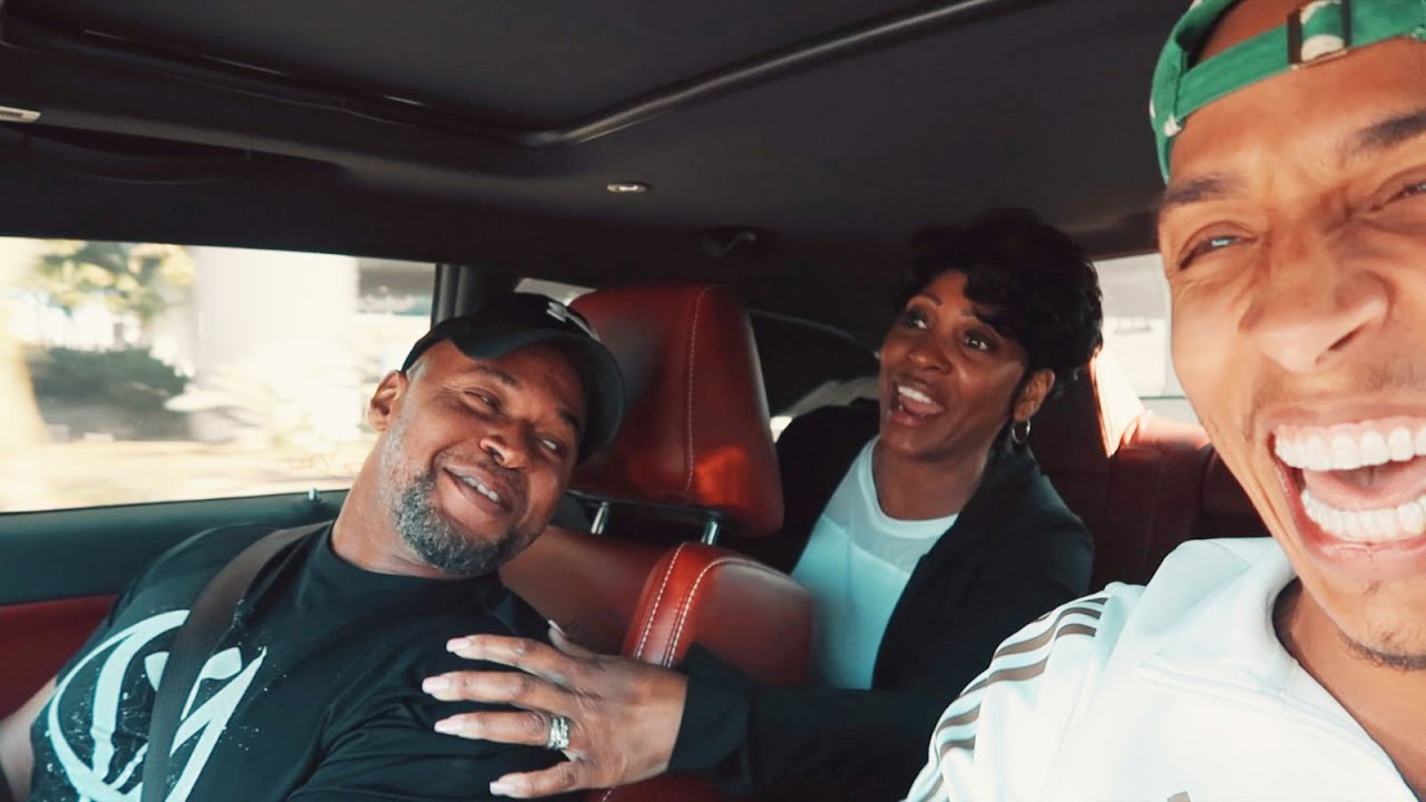 MY GIRLFRIENDS PARENTS GO FOR A RIDE IN MY HELLCAT! *HILARIOUS*