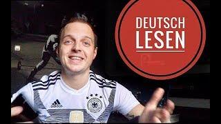 Немецкий для начинающих! Чтение в немецком. Алфавит, числительные, слова. Deutsch lesen. Урок 1.