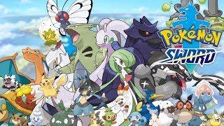 Pokemon Sword - W POSZUKIWANIU RZADKICH POKEMONÓW - Na żywo