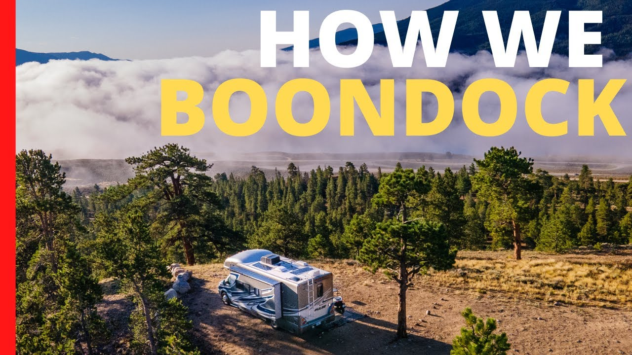 RV Boondocking Day in the Life | How We Camp Off Grid with a RV Solar System