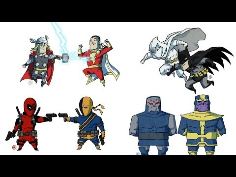 Marvel and DC Similar Characters