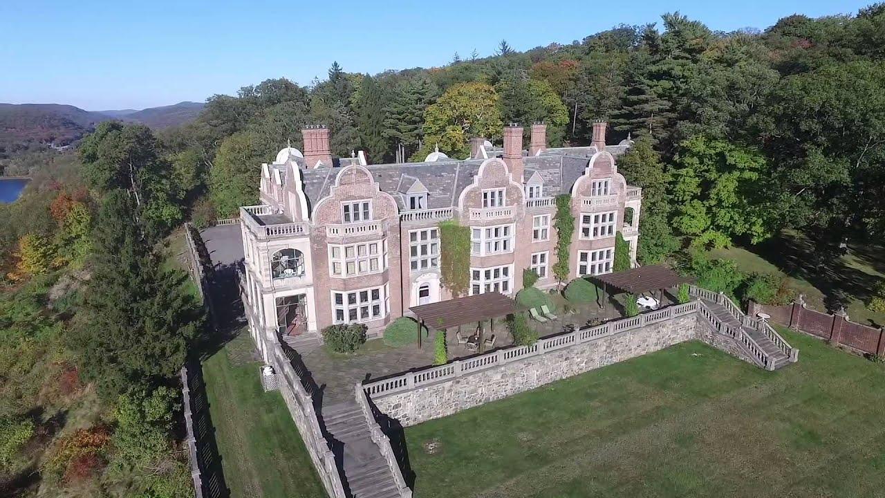 Drone flight across tuxedo park ny youtube for The tuxedo house
