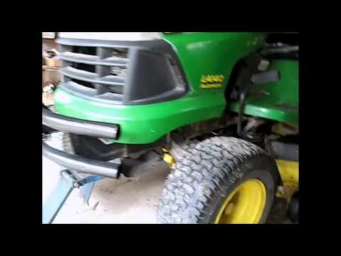 John Deere LA 140 Mower Belt Replacement