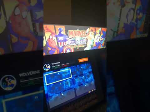 Arcade1up Marvel VS. Capcom Cabinet!! from samuel tejeda