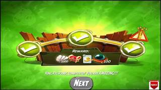 Beat The Daily Challenge King Pig Panic Completed in Angry Birds 2 Thursday (2)