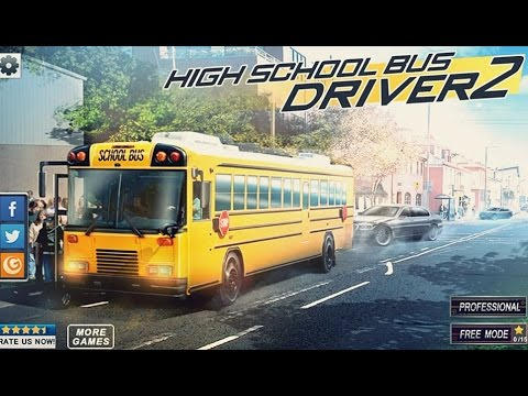 High School Bus Driver 2 - Android Gameplay HD