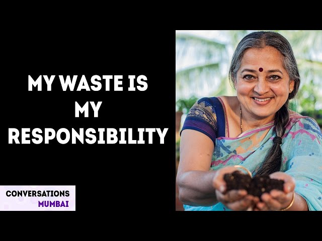 How I grow my own food | Vani Murthy | Sustainable Lifestyle | Home Composting |Conversations Mumbai