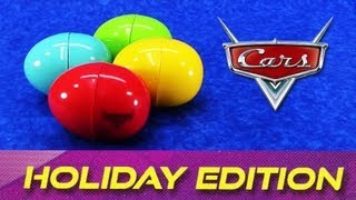 Cars 2 Holiday Edition Surprise Easter Eggs Diecast Cars Disney/Pixar 2009