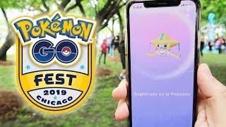 ¡CAPTURO JIRACHI! NUEVO POKÉMON MÍTICO en el Pokémon GO Fest 2019!! [Keibron]