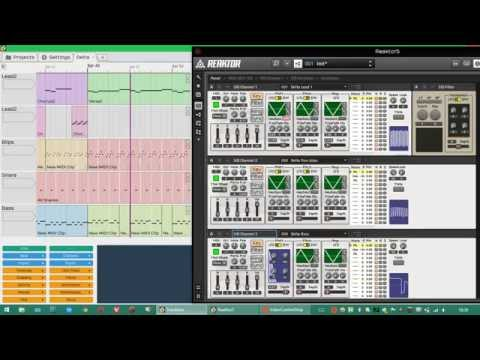 C64 Delta music in my Reaktor SID emulation (complete)