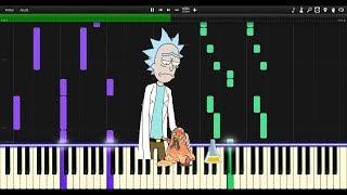 Sad Rick Do You Feel It Chaos Chaos Synthesia Piano Tutorial