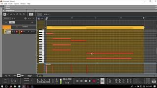 Learn Reason 10 | Quick Tips #3 | Editing MIDI Velocity Data